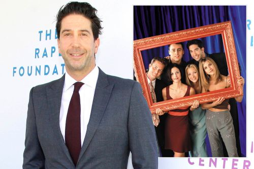 Inside David Schwimmer's 'crappy summer jobs' before he landed 'Friends'
