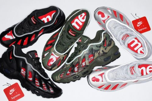 Supreme x Nike Air Max 96 Spring 2021 Collaboration